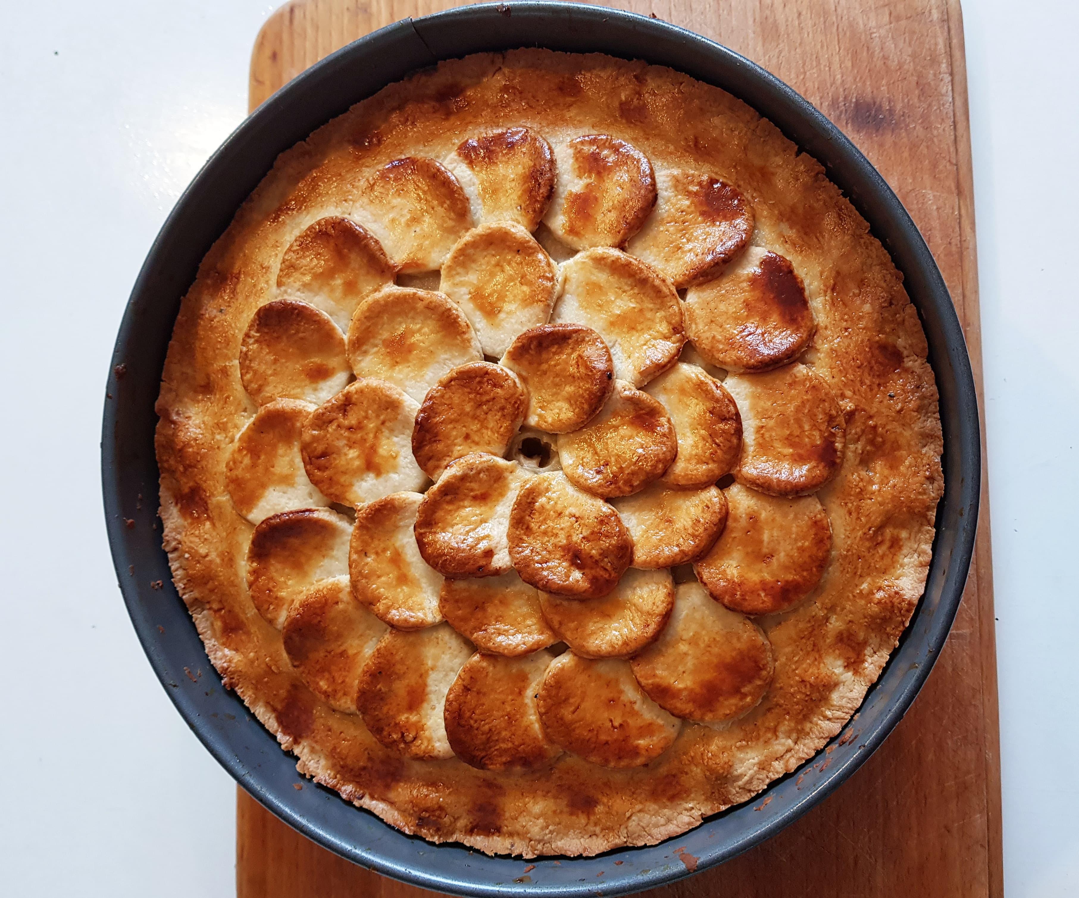 Hot Water Crust Pastry Hand Raised Chicken and Ham Pie Recipe