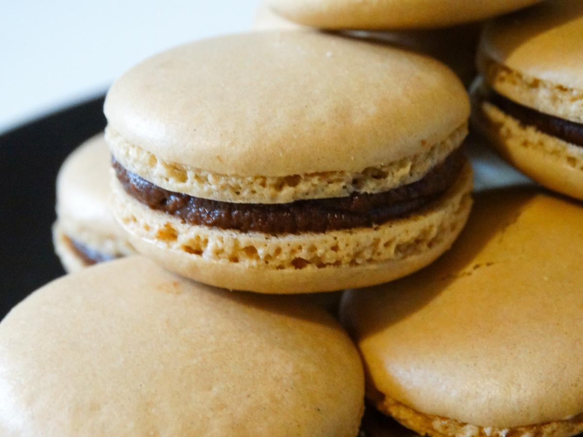 Italian Meringue Macarons